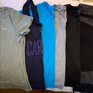 Lot of exercise clothing! Sz L + XL